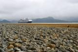 MS Westerdam in Crescent Bay, Sitka Alaska