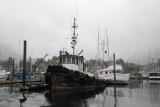 Old Tug in Sitka Harbor