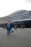MS Westerdam docked at Ogden Point