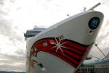 Norwegian Jewel docked at Odgen Point