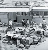 Market Scene, Chunchon, S. Korea 1973