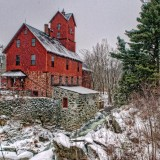 Old Red Mill in Jericho, VT