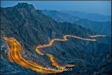 Al-Hada Taif road in evening.jpg