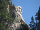 Mount Rushmore from side