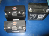 Shorai 18 and 21 amp hours next to OEM 14 amp/hour