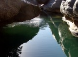 The beautiful pool in Wadi Dam