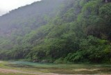 Wadi Dirbat in the mist