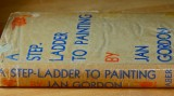 Doris Smith's battered old copy of Jan's Step-ladder to Painting, now with the signatures of her great grandchildren inside.