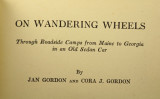 Published in 1929, an account of the first part of the Gordons' tour of USA.