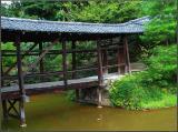 Covered bridge at Kodaiji Kyoto