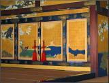 Painted sliding doors - Nijo Castle - Kyoto