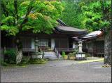 Quiet temple in Koya-san