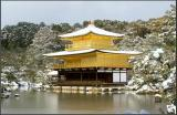 The Golden Pavilion in the snow 3 - Kyoto