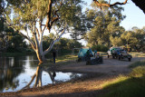 Our camp on the Coopers Creek