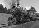 TWEETSIE RAILROAD STEAM ENGINE - BOONE, NORTH CAROLINA