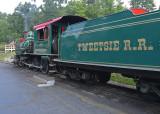 TWEETSIE RAILROAD STEAM TRAIN - BOONE, NORTH CAROLINA