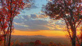 FALL SUNSET  -  AN HDR IMAGE