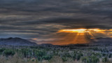 HOLE IN THE SKY  -  AN HDR IMAGE