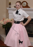GRANDDAUGHTER MIRI IN HER GREASE COSTUME  -  ISO 100