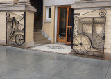 WROUGHT IRON GATE  -  ISO 100