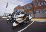 SHERIFF'S DEPARTMENT MOTORCYCLES  -  SONY 16mm f/2.8 LENS WITH MATCHING SONY FISHEYE CONVERTER