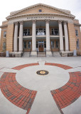OLD HENDERSON COUNTY COURT HOUSE  -  SONY 16mm f/2.8 LENS WITH MATCHING SONY FISHEYE CONVERTER
