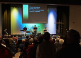 WORSHIP SERVICE  -  ISO 6400  -  ANTI-MOTION BLUR SETTING  -  NO POST-PROCESSING NOISE REDUCTION