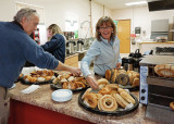 BREAKFAST GOODIES AT CHURCH  -  ISO 1600  -  SONY 16mm f/2.8 E-MOUNT LENS