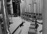 THE CHORUS SEATING FOR THE SHOW