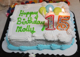A SURPRISE BIRTHDAY CAKE FOR MOLLY!