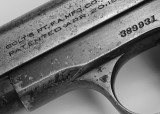 WELL USED COLT MODEL 1903 .32 ACP PISTOL  -  TAKEN WITH A TAMRON SP 90 f/2.5 MACRO LENS