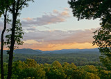 A BEAUTIFUL WESTERN NORTH CAROLINA SPRING EVENING  -  AN IN-CAMERA HDR IMAGE (6 COMBINED IMAGES)