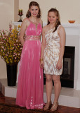 MIRI AND SARAH, JUST BEFORE LEAVING FOR THE PROM  -  SONY 50mm f/1.8 LENS  -  SONY HVL-F58AM FLASH