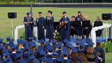 WEST HENDERSON HIGH SCHOOL GRADUATION CEREMONY  -  CROPPED VERSION OF THE PREVIOUS IMAGE
