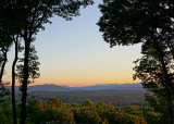 WESTERN NORTH CAROLINA MOUNTAIN EVENING  -  TAKEN WITH A SONY 18-200mm E-MOUNT LENS