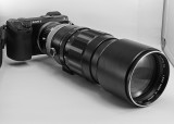 NEX-7 WITH A MINOLTA MC ROKKOR 300mm f/4.5 HF LEGACY LENS