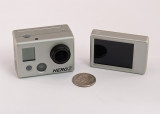 GO-PRO HERO2 SHOWN WITH THE OPTIONAL LCD BACPAC DETACHED