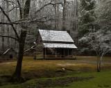 Henry Whitehead Cabin near Forge Creek