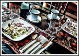 Exclusive Tableware for Breakfast