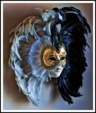 un masque pour le bal costumé