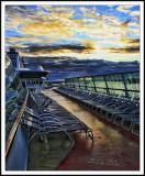 Glorious Sunrise Aboard the Jewel