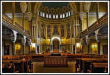 Inside the Great Synagogue of St. Petersburg