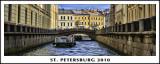 Traversing St. Petersburg Via Canals