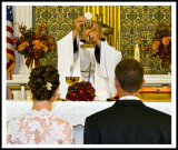 Receiving Communion at the Wedding Mass