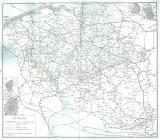 Réseau ferroviaire et vicinal belge en 1935