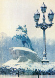 St. Petersburg,  bronze horseman statue