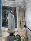Inside the Basilica of the Rosary
