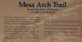 next stop ... Mesa Arch