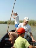 Perxar en el Delta del Ebro es una de las maneras lúdicas de disfrutar del Delta del Ebro