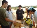 Construir cajas nido ayuda a aumentar las poblaciones de aves y a controlar las poblaciones de insectos dañinos para el cultivo